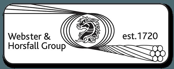 Webster & Horsfall Logo banner