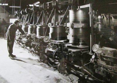 7 hole wiredrawing machine1960s
