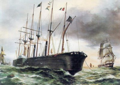 Great Eastern laying the 1866 Atlantic cable