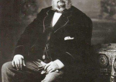 James Horsfall aged 57 in 1870 ish